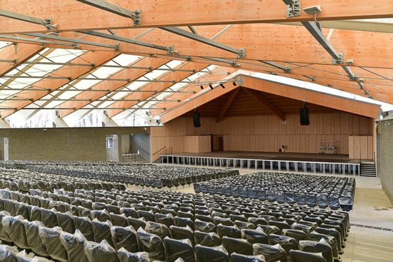 Niebawem w Nowym Sączu otwarcie amfiteatru! Zobacz jak zmienia się Park Strzelecki
