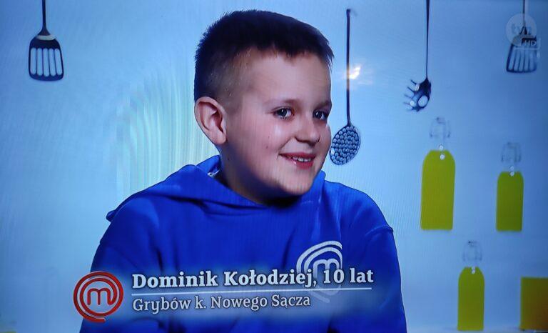 Dominik z Grybowa gotuje w programie Masterchef Junior. Radzi sobie wyśmienicie