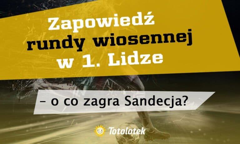 Zapowiedź rundy wiosennej w 1. Lidze – o co zagra Sandecja?