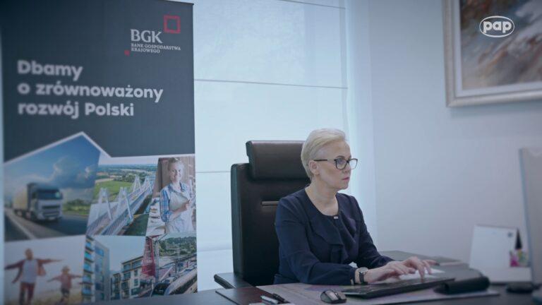 BGK udzielił wsparcia polskim przedsiębiorcom 100 tysięcy razy w trakcie pandemii