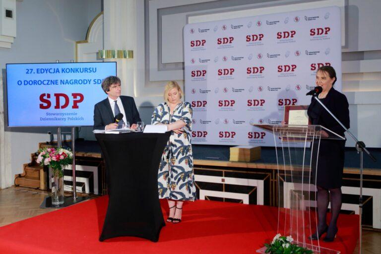 20 kwietnia br. mija termin składania prac do konkursu o doroczne Nagrody SDP.