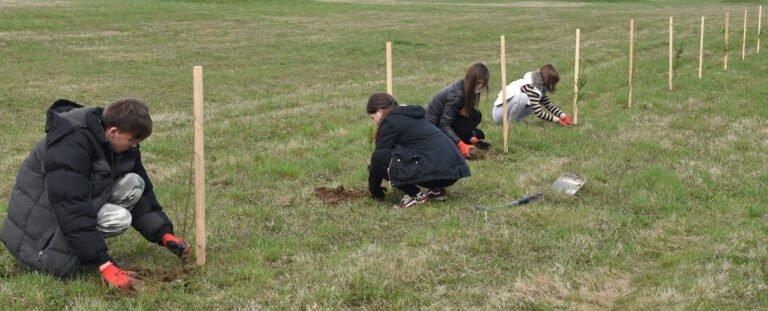 Świniarsko: wyrośnie 350 drzew… Akcja Sądeckich Wodociągów z okazji Dnia Ziemi