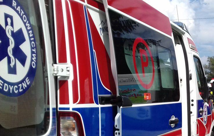 Nowy Sącz. Interwencja strażaków, pogotowia i policji na ul. I Brygady