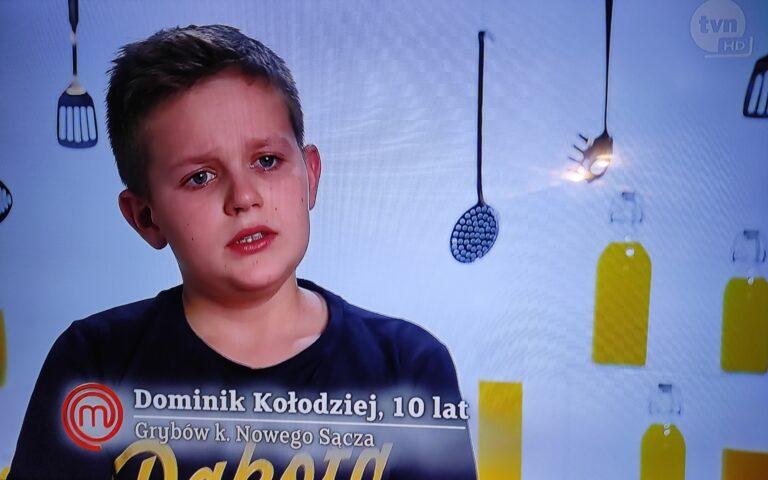 Dominik zakończył swoją przygodę z programem Masterchef Junior. Pokonał go… stek