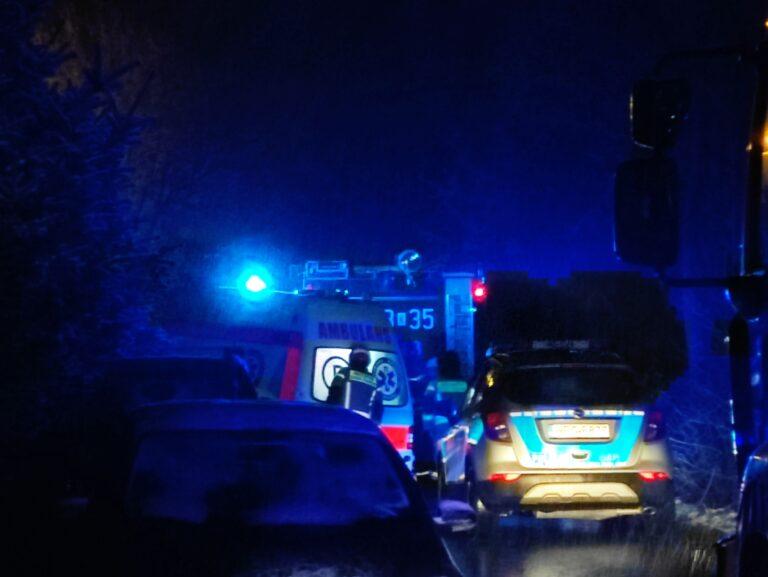 Wypadek kierowcy skutera w Korzennej