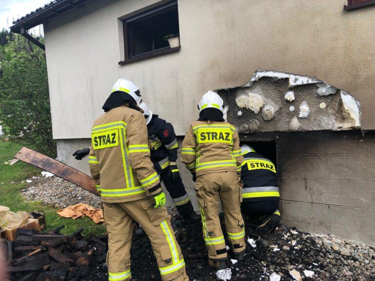 Tragiczny finał pożaru w Ptaszkowej. Nie żyje seniorka