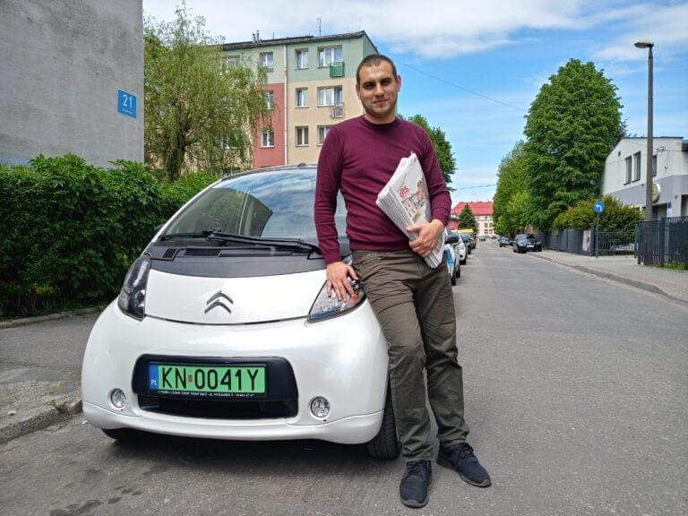 Jesteśmy eko – rozwozimy DTS elektrykiem