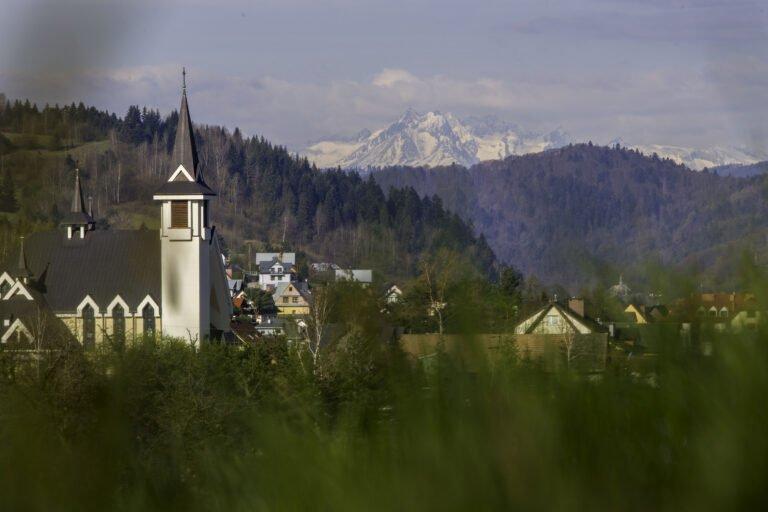 Tatry ukazały się w Powroźniku… Te dwa miejsca dzieli w linii prostej około 70 kilometrów