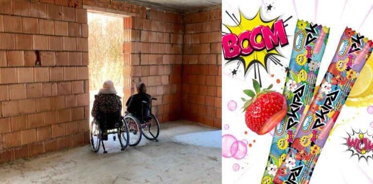 Paszyn. Lody Ekipy pomogą budować dom dla niepełnosprawnych sióstr i ich mamy