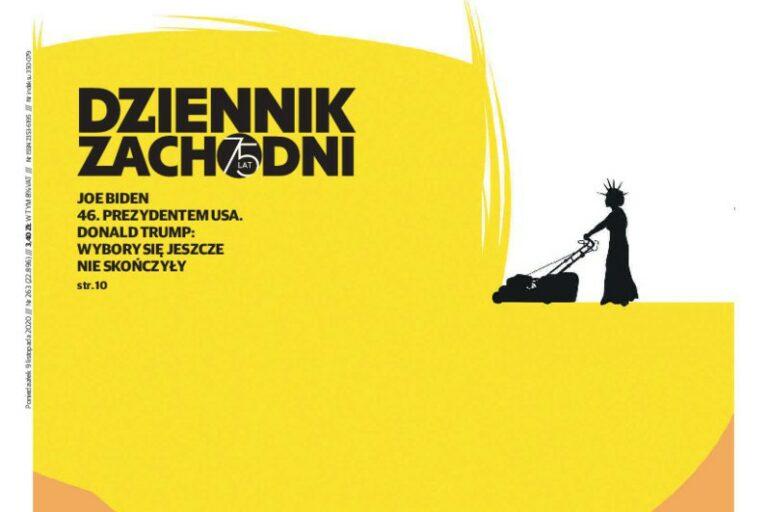 Okładka Tomasza Bocheńskiego z drugą nagrodą Best of Print News Design. Wkrótce wystawa jego grafik