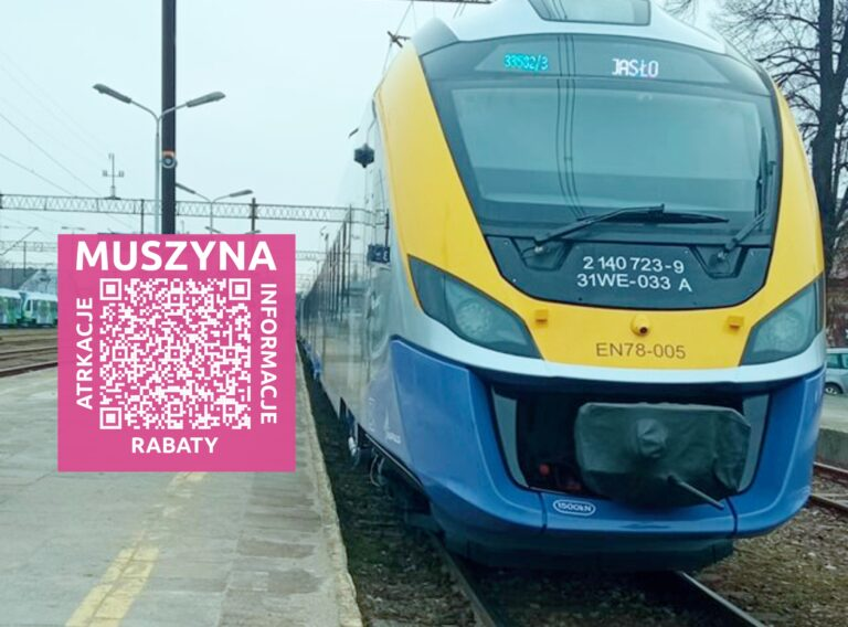 Będzie wakacyjny pociąg Jasło – Muszyna – Krynica. Dla podróżnych, którzy zatrzymają się w Muszynie – paczka rabatów!