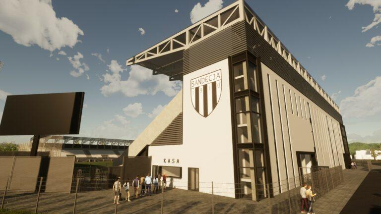 Wybrano wykonawcę stadionu Sandecji. To firma, która została wykluczona z poprzedniego przetargu
