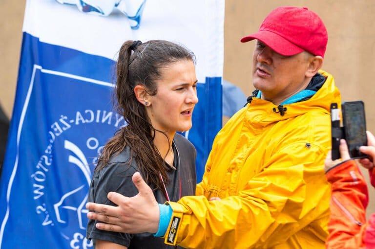 Ewa Brzeska i Darko Bąba biegli po uśmiech najszybciej