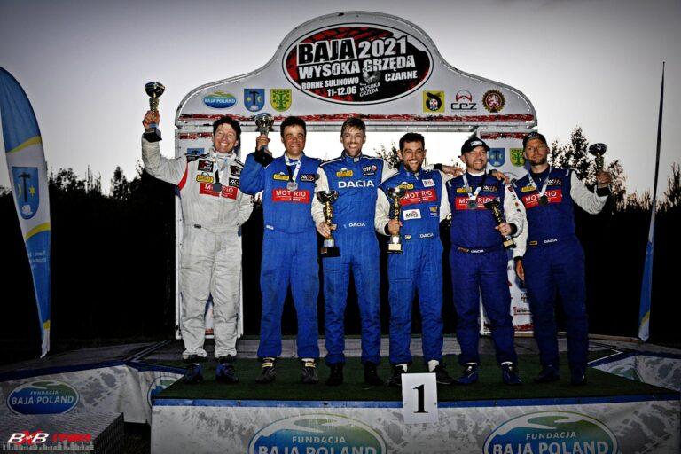Emocje nie do opisania! 2. miejsce w Dacia Duster Motrio Cup dla naszej załogi