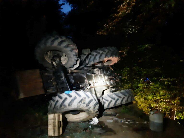 Bilsko. Tragiczny wypadek w lesie. Nie żyje 51-latek