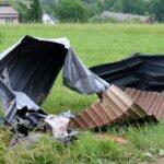Librantowa po przejściu tornado