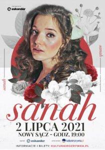 Plakat Sanah