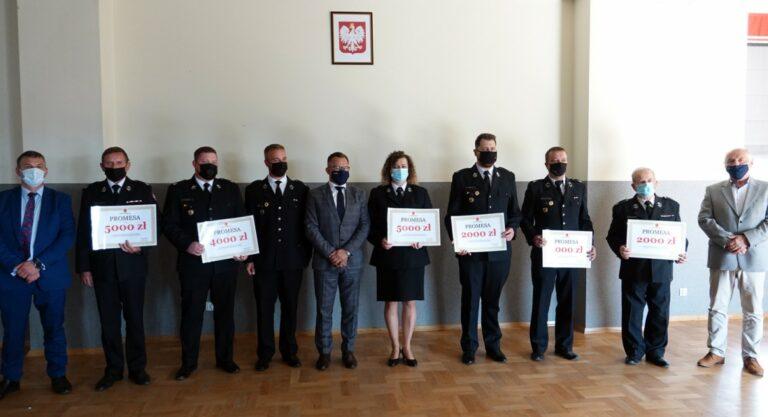 Sądecczyzna. Do strażaków ochotników trafiło 155 tys. zł