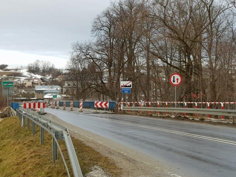 Sękowa. Most w ciągu drogi wojewódzkiej będzie zamknięty