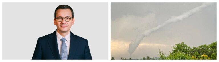 30 domów uszkodzonych w Librantowej. Premier Morawiecki deklaruje wsparcie dla Sądecczyzny