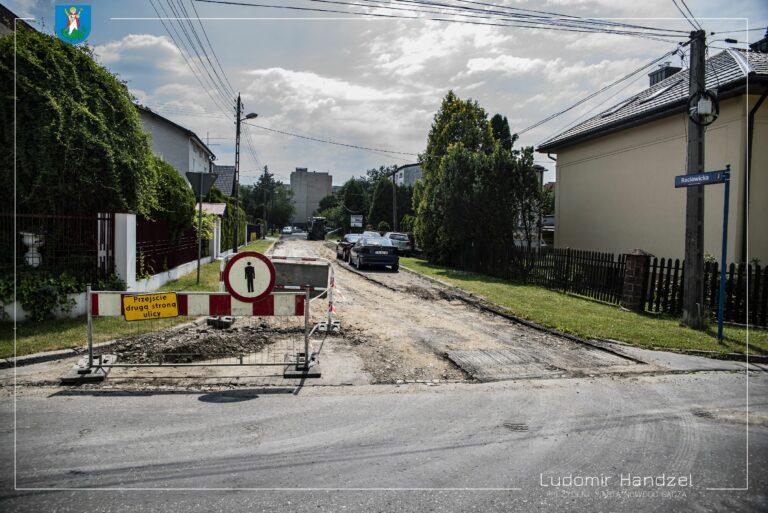 Nowy Sącz. Trwa remont ulicy Racławickiej