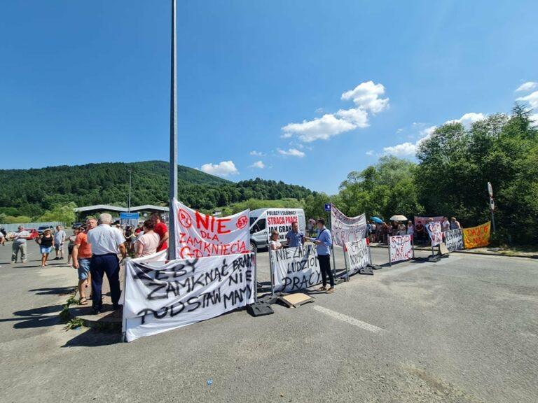 Presja opłaciła się. Przejścia graniczne ze Słowacją będą ponownie otwarte