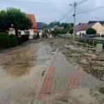 Powódź w Łącku