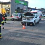 Wypadek w Bobowej