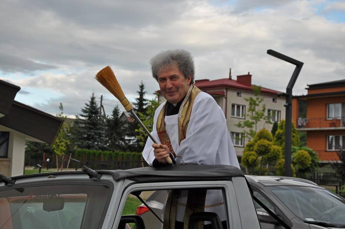 ksiądz proboszcz Józef Kmak