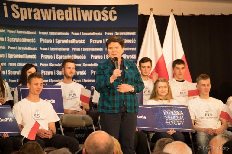 Europosłanka Beata Szydło z wizytą na Sądecczyźnie