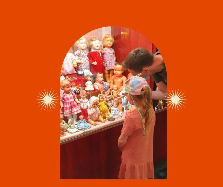 Muzeum zabawek. Tym bawili się rodzice, dziadkowie…