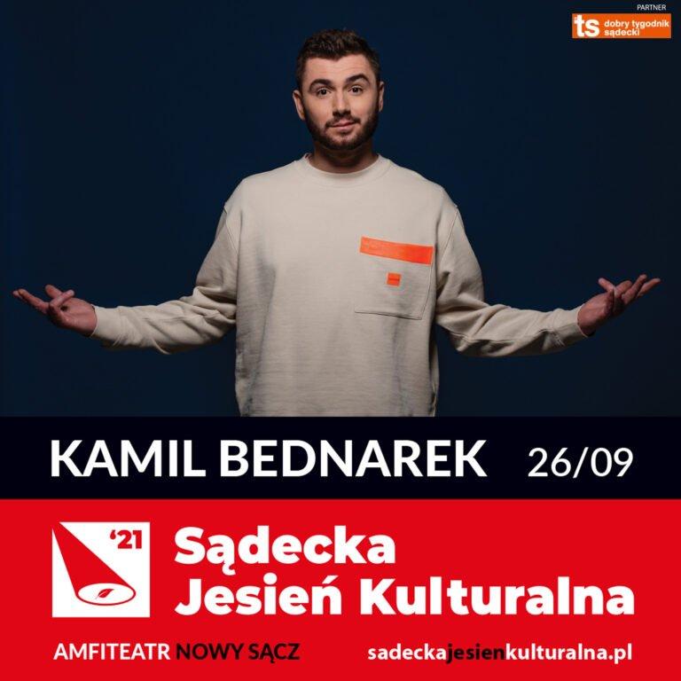 Nowy Sącz, 26 września: Sądecka Jesień Kulturalna – koncert Kamila Bednarka