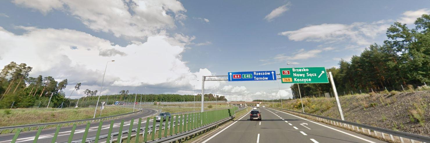 Autostrada A4 w Brzesku
