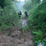 Powódź Łącko