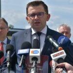 Briefing prasowy - obwodnica Chełmca