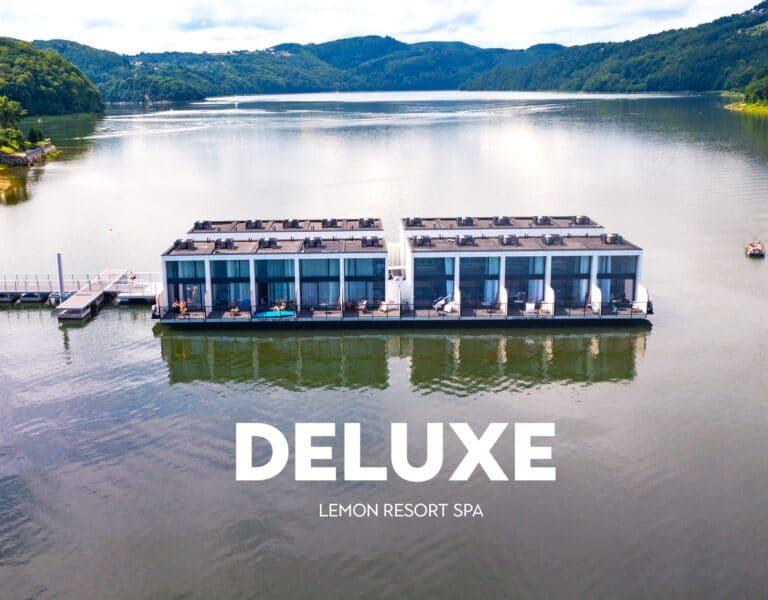 Lemon Resort Spa wybudował apartamenty na wodzie