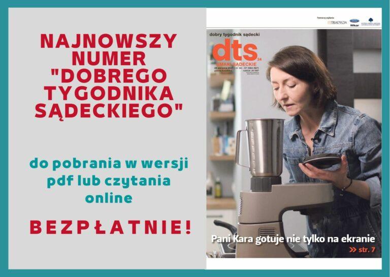 Najnowszy numer DTS. Kulinarne rewolucje!