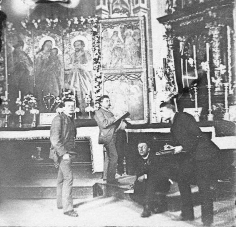 Stanisław Wyspiański na wakacjach na Sądecczyźnie