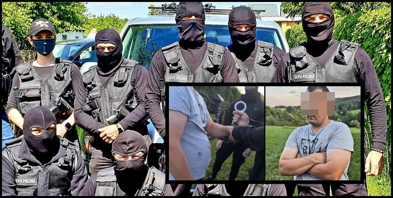 Gmina Korzenna, 25-latek zatrzymany przez Łowców Pedofili