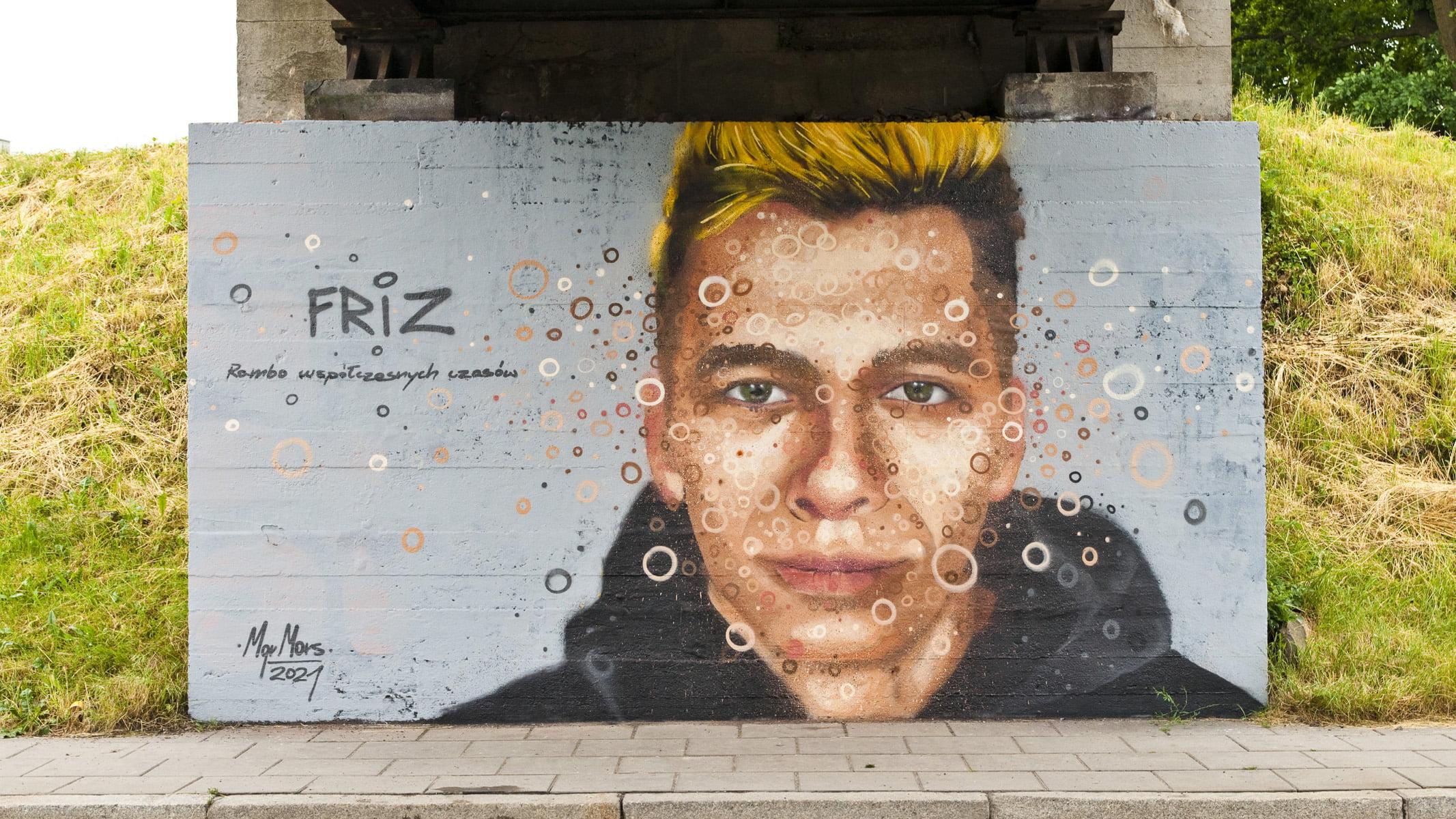 Murale MGR Mors Nowy Sącz