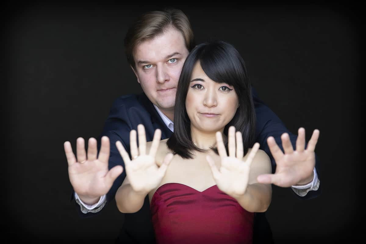 Krzysztof Dziurbiel i Chiemi Tanaka, Genialni Lokalni Globalni, Fot. Silvio Rether