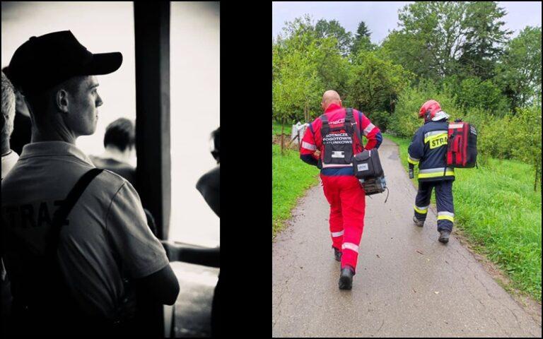Prokuratura bada przyczyny śmierci 18-letniego Michała. Żegnają go strażacy i piłkarze