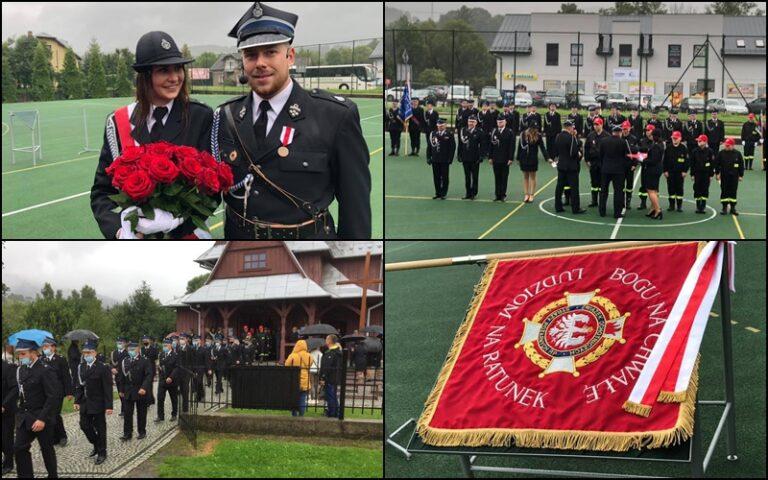 OSP Łabowa. Uroczystości 100-lecia ze strażackimi zaręczynami w tle
