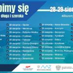 Plakat - szczepienia 28-29.08.2021