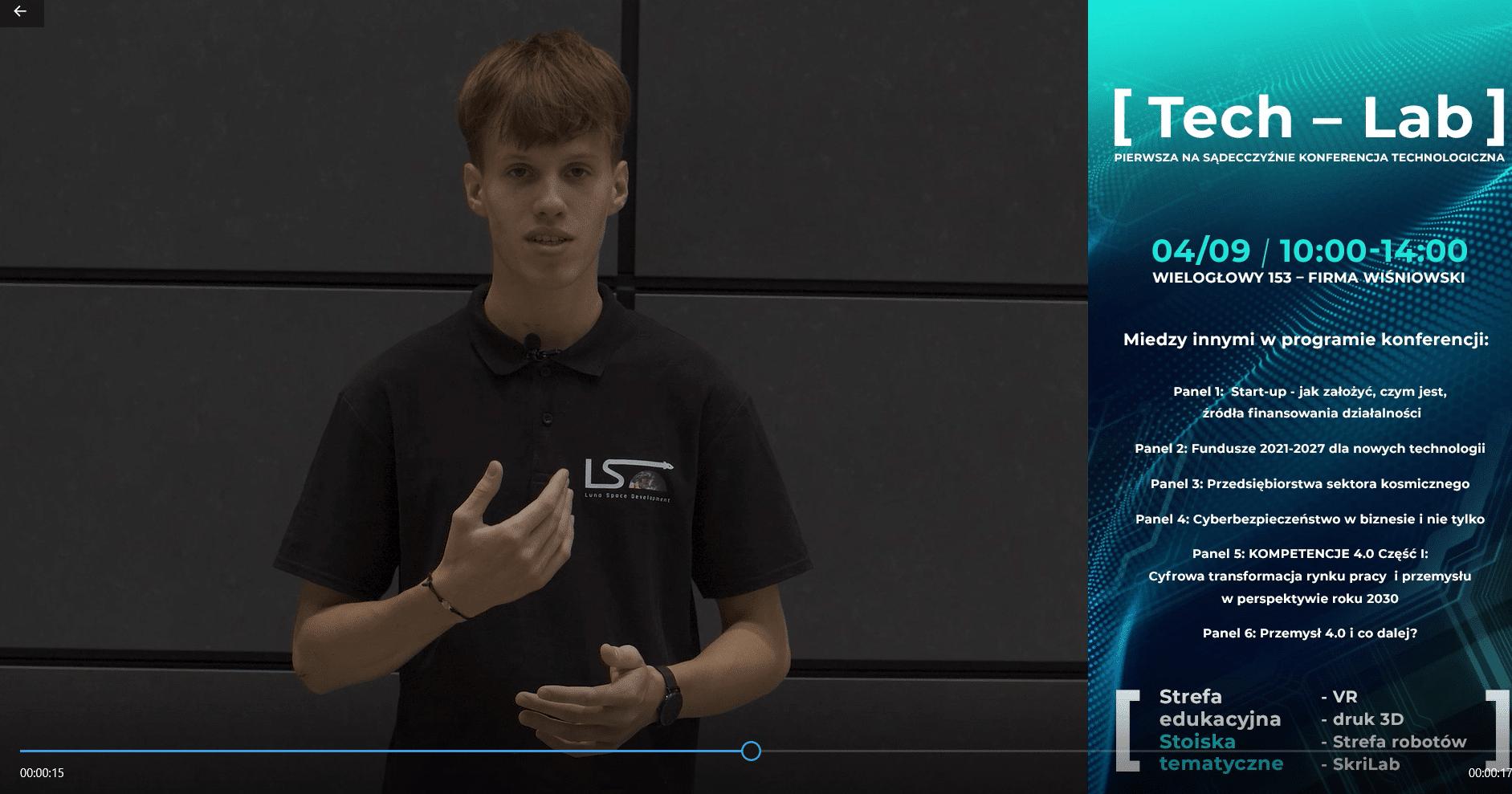 tech lab konferencja technologiczna