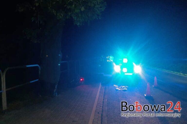 Tragiczny wypadek w Wilczyskach. Nie żyje 16-latek