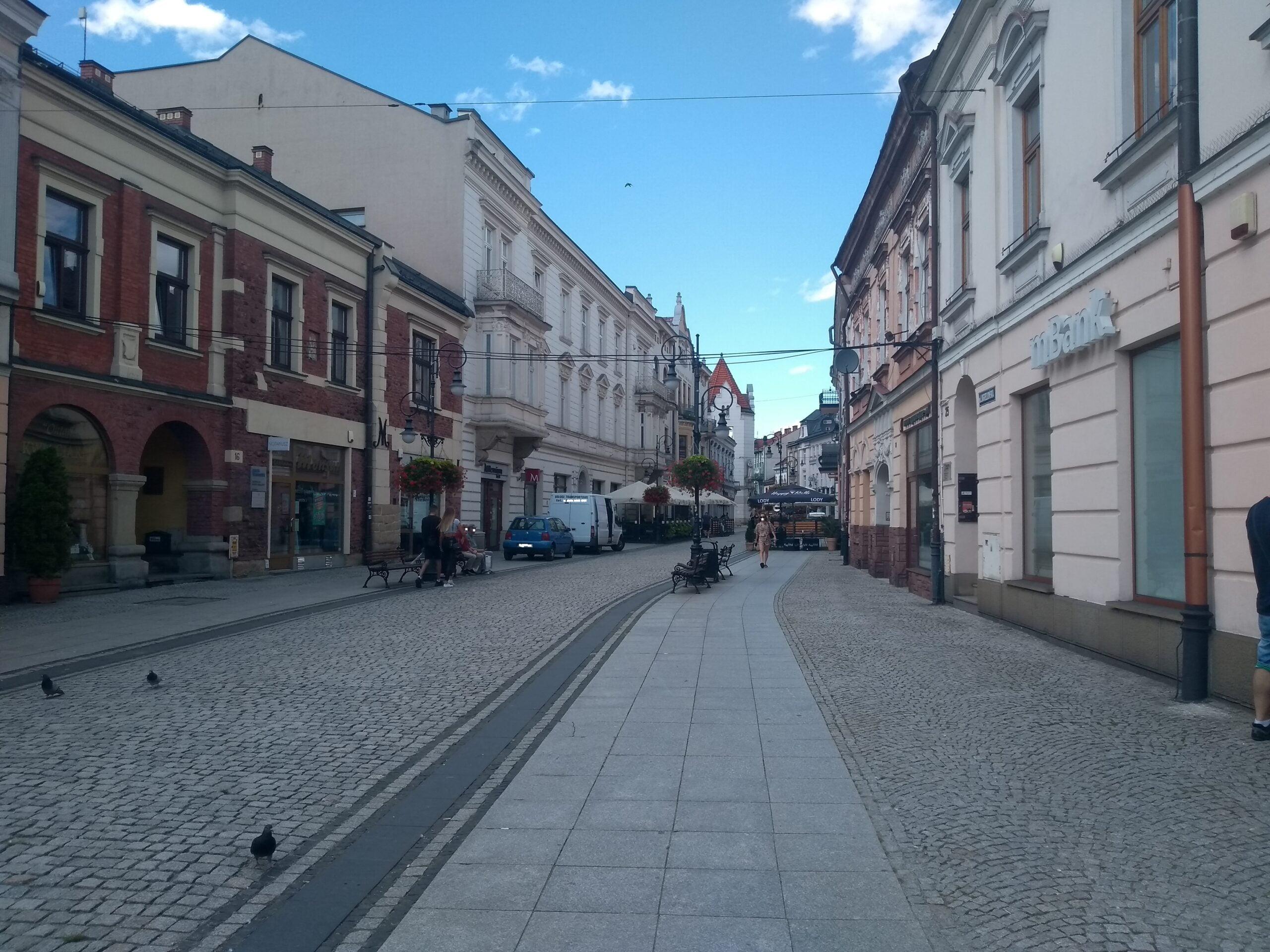 deptak Jagiellońska Nowy Sącz