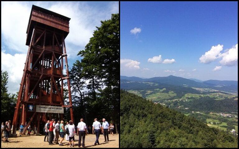 """Wieża na ,,Górze Zakochanych"""" otwarta dla turystów"""