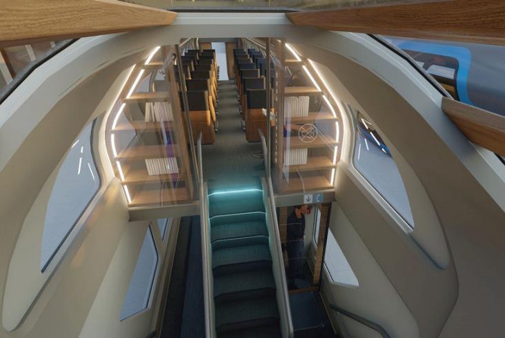piętrowy wagon Intercity
