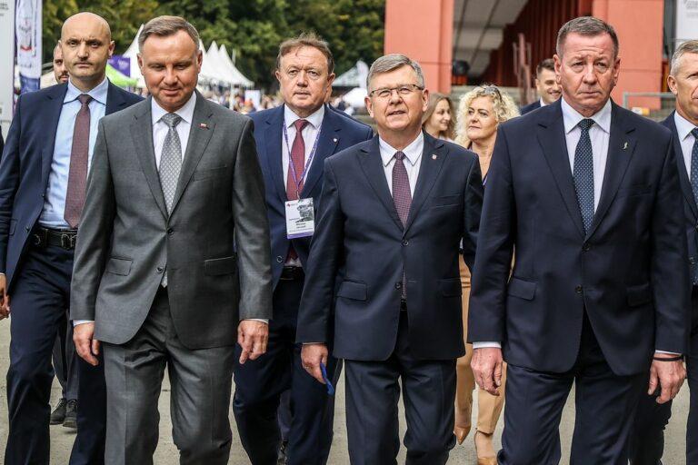 Krynica-Zdrój. Prezydent Andrzej Duda gościem CYBERSEC